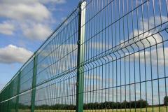 зеленый 3д забор