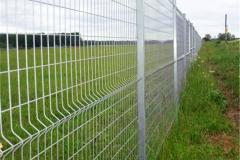 белая сетка гиттер забор