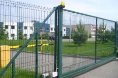 3д забор с воротами