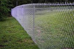 Забор из рабицы в натяжкк