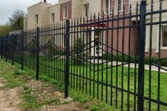 Забор металлический для  сварной