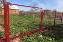 Прозрачный металлический забор