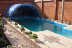 Навес сферический для бассейна