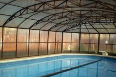 Навес для закрытого бассейна