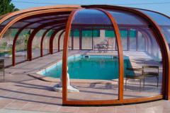 Сферический навес для бассейна