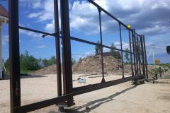 каркас откатных ворот