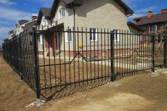 секционный сварной забор