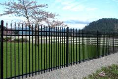 сварной забор секции