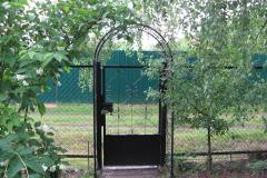 Сетка рабица забор частный дом