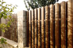 Штакетник из металла забор для дачи