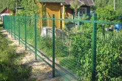 Забор для дачи  3d