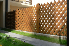 деревянный забор решётка для дома