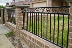 сварной забор для частного дома