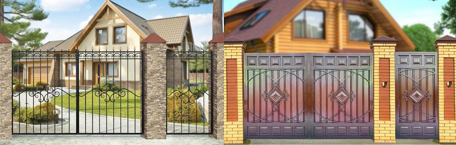 Какие ворота лучше – откатные и распашные