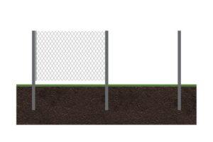 Забор рабица 1