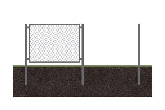 Забор рабица 10