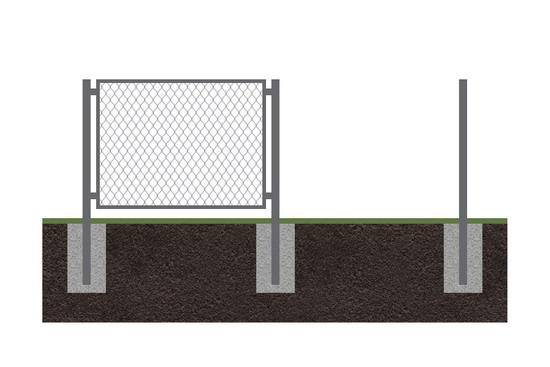 Забор рабица 12