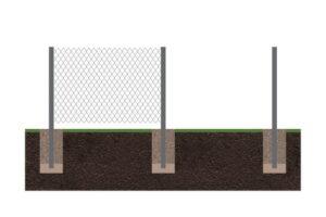 Забор рабица 2