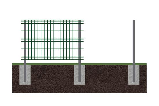 Забор 3d 2