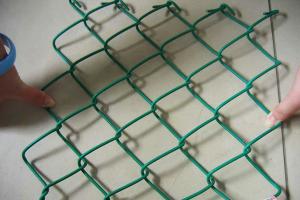 Сетка рабица покрытая ПВХ