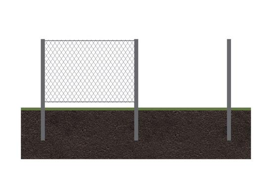 Забор рабица 3