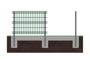 Забор 3d 3