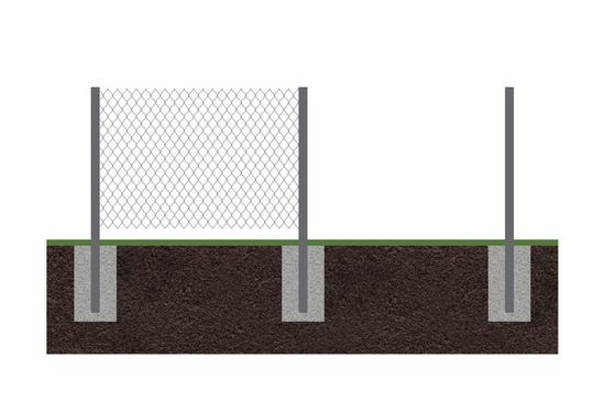 Забор рабица 5