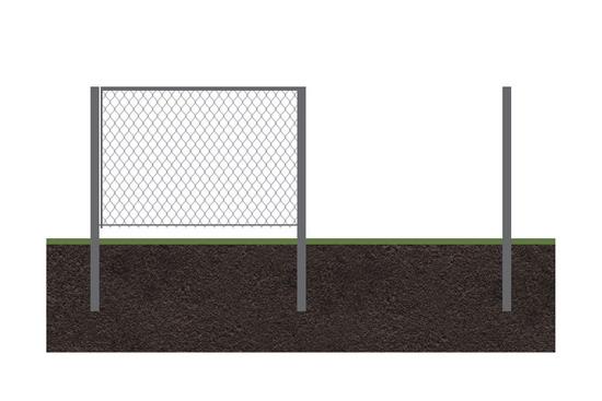 Забор  рабица 6