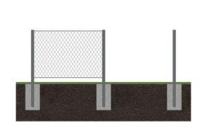 Забор рабица 7