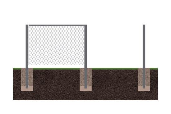 Забор рабица 8