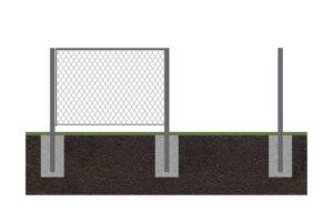 Забор рабица 9