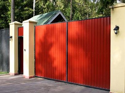 Выбор ворот для частного участка