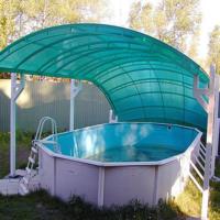 навес для бассейна