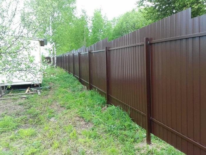 Дешёвый забор